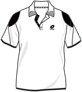 Lotto Poloshirt ATP Skin, Herren, Gr. L (US), white/black