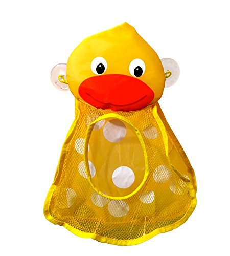 Clearance SaleThe Momma Duck Bath Toy Organizer Bag for Baby Toys & Toy Storage Ideal for 1 Year Olds, 2 Year Olds