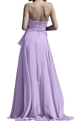 Topkleider mujer para Lilac trapecio Vestido 6HxZp86