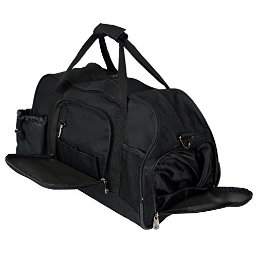 Top 5 Best Gym Bag With Shoe Compartment And Water Bottle Holder For Sale 2017