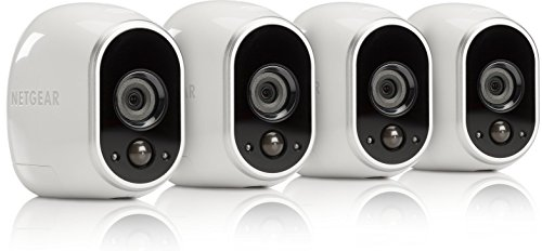 Arlo Security Camera – 4 Add-on Wire-Free HD Camera (Base Station Not Included), Indoor/Outdoor, Night Vision (VMC3430)