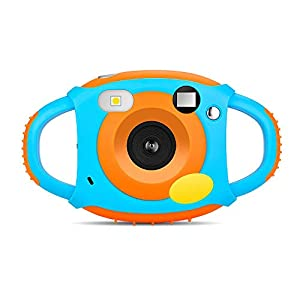 GordVE Digital Camera for Kids, WiFi Selfie Camera with Soft Plastic Anti-Drop Design, HD1080P 5MP Camcorder with 1.77 Inch LCD,7 Color Filter Effect,Flash and Mic for Children Girls Boys