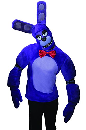 Rubie's Men's Five Nights At Freddy's Bonnie Costume, Multi, (Bonnie Halloween Costume)