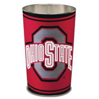NCAA Ohio State Buckeyes Tapered Wasteba - Ohio State Buckeyes Wastebasket Shopping Results