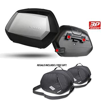SHAD - D0B35100-KIT1 : Maletas baules laterales moto equipaje SH35 SH 35: Amazon.es: Coche y moto
