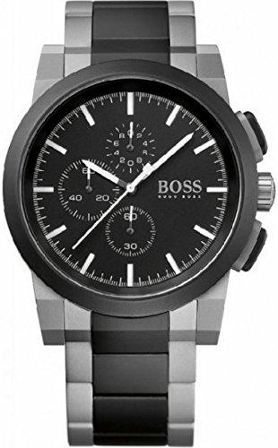 Men's Two Tone Hugo Boss Neo Chronograph Watch 1512958