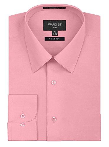 Ward-St-Mens-Slim-Fit-Dress-Shirts