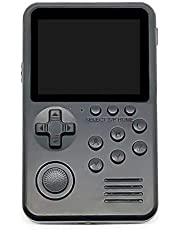 Game Console,FEIlei M3S Mini Handheld Game Console Players Built-in 1500+ Games 16 Bit Retro Gaming-Black