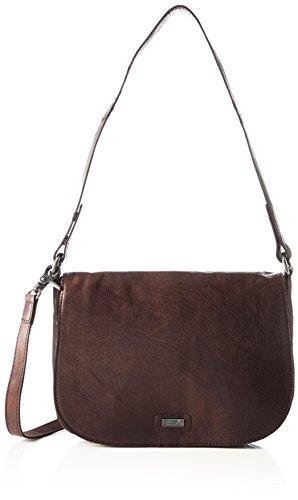 Donna Flap Borse Sparrow Spikes Brown Bag a Dark tracolla amp; Marrone 01qwfqF