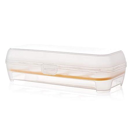 Scrox 1x Huevera plastico Estuche Transparente Envases para ...