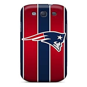 Randapy4x65 Perfect Tpu Cases For Galaxy S3/ Anti-scratch Protector Cases (new England Patriots)