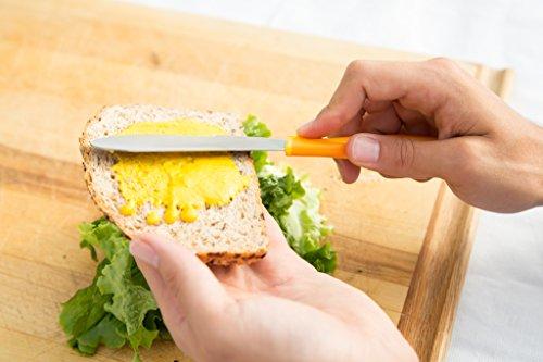 ZYLISS Sandwich Knife and Condiment Spreader, Orange