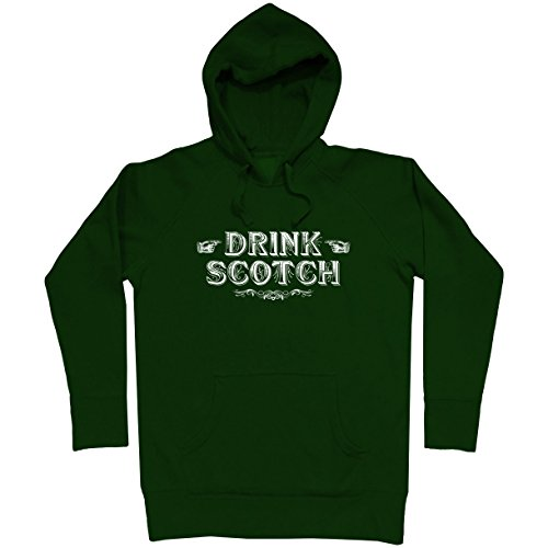 Smash Transit Men's Drink Scotch Hoodie - Dark Green, ()