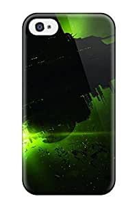 aqiloe diy Awesome Design Alien Isolation Hard Case Cover For Iphone 4/4s