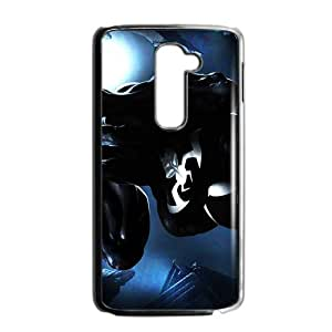 SKULL DC spiderman black Phone Case for LG G2