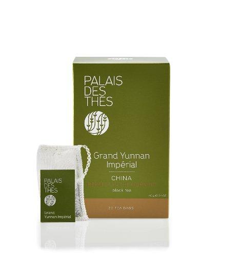 (Palais des Thés Grand Yunnan Imperial Chinese Black Tea, 20 Tea Bags (40g/1.4oz))