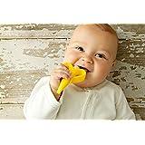 فرشاة أسنان بيبي بانانا من السيليكون للأطفال بعمر 3-12 شهرًا