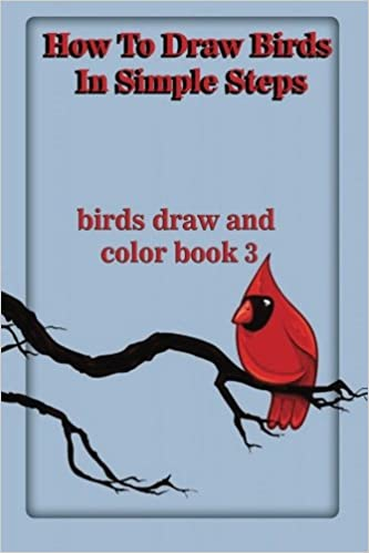 How To Draw Birds In Simple Steps Birds Draw And Color Book