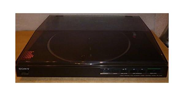 Sony PS de LX 520 Haya de Tocadiscos: Amazon.es: Electrónica
