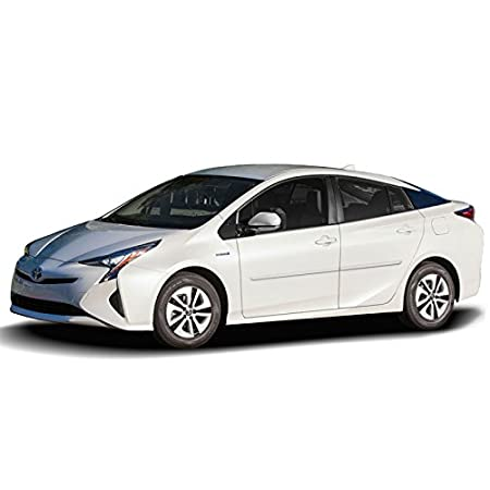 Blizzard Pearl White Dawn Enterprises FE-PRI10 Finished End Body Side Molding Compatible with Toyota Prius 070