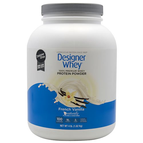 Designer Whey Protein Powder French Vanilla – 4 lbs For Sale