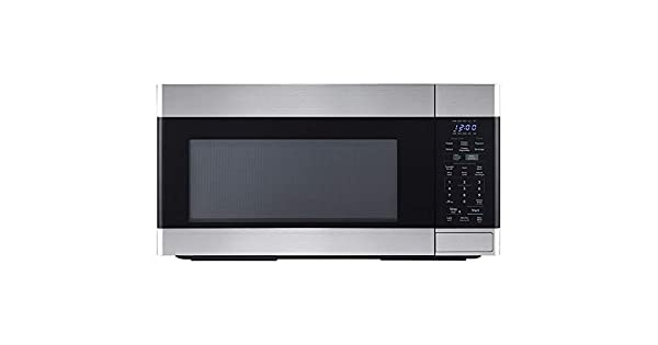 Amazon.com: Sharp 1.8 CF 1100W - Horno de microondas (acero ...