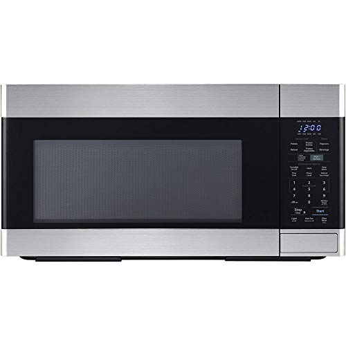 Sharp SMO1854DS Over the Range Microwave Oven with 1.8 cu. ft. Capacity, 1100 Cooking Watts, 450 CFM in Stainless Steel  ()