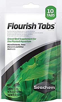 Seachem Flourish Tabs Growth Supplement – Aquatic Plant Stimulant 10 ct