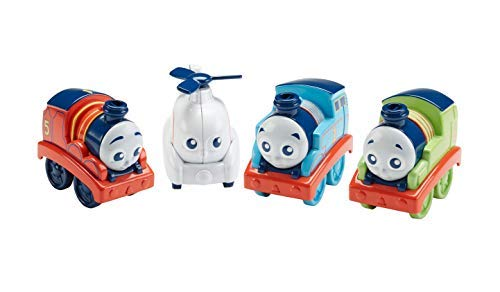 Fisher-Price Thomas & Friends My First Push Along Train with James, Harold, Percy and Thomas -