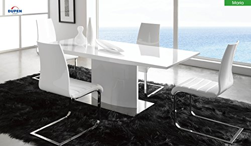 Dupen Maria Dining Table DT01 with Valencia (Dupen Furniture)