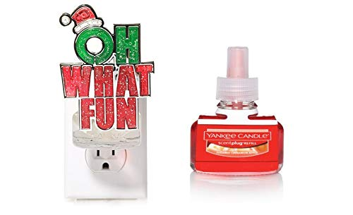 Yankee Candle Oh What Pomegranate Fun Electric Night Light Fun scent-plug Diffuser Base with a Bubbly Pomegranate Home Fragrance Electric Refill B077C73PYQ, インプレッション AUTO:493ae3e9 --- cosp.top