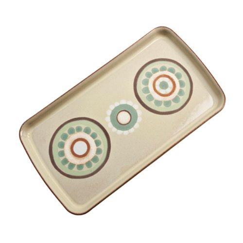 Denby Heritage Veranda Accent Rectangle Plate, Yellow