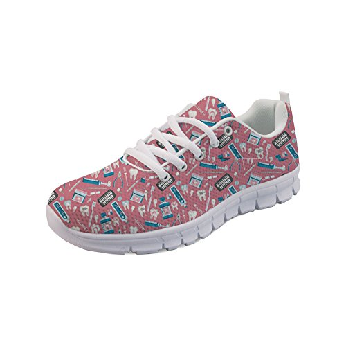 Zapatillas Para 3 Color Showudesigns Running de Mujer dPYx0gn