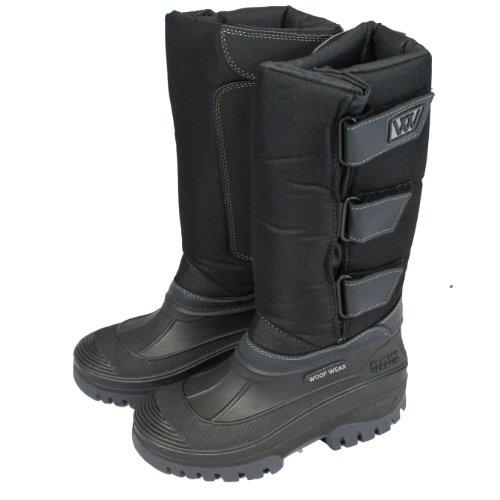 Woof Wear Long Junior Stiefel, schwarz,), (UK 5)
