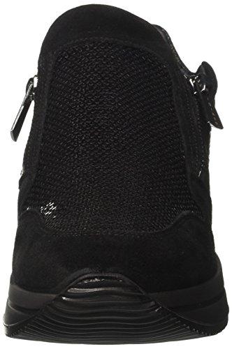 8758 IGI a Dku amp;CO nero Donna Nero Basso Sneaker Nero Collo qFEUREn