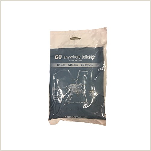 Cleanwaste Wag Bags Toilet Kit Pack of 6 by Cleanwaste (Image #1)