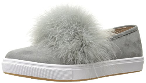 Steve Madden Womens Emily Fashion Sneaker Grey