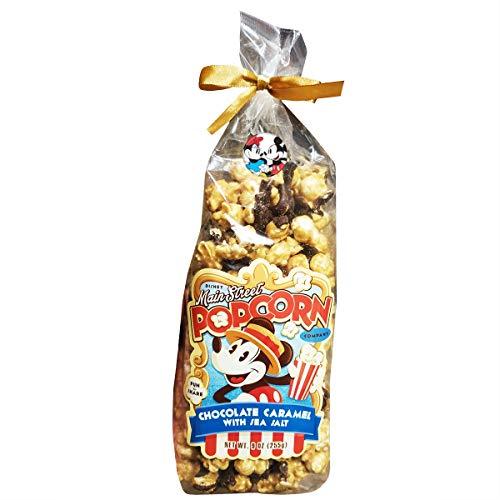chocolate and sea salt popcorn - 6