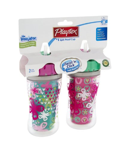 Playtex the Insulator 2+ Years #1 Spill-Proof Cup 2 CT