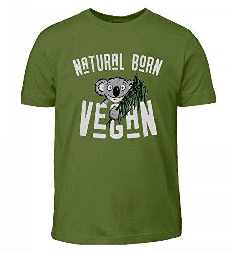 T Shirt Geschenk Hochwertiges Natural Born Koala Vegan Kinder 5n0vvH