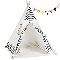 OlarHike - Kid's Secret PlaygroundEvery child want to own his Disney Land Cumbor Teepee Is A Perfect Playground For Your Kid To Explore His Ever-Expanding Mind【Easy Install】Parent can assemble or folds away in 5 minutes that is a small chal...