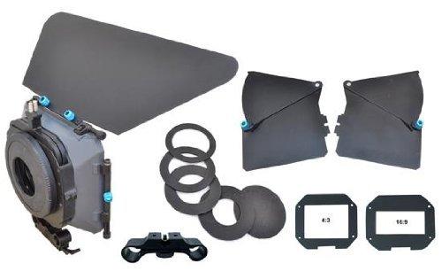 DVC 17715 Proaim MB-600 Matte Box Sunshade Kit for Normal and Wide Angle Lenses (Black)