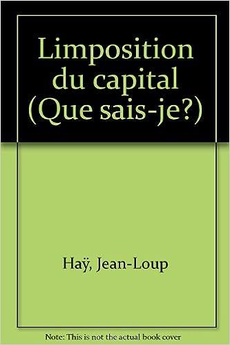 Lire un L'Imposition du capital pdf