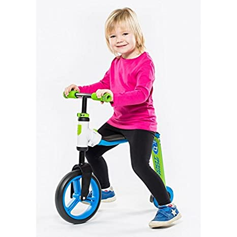 Scoot & Ride Junior Verde (2en1 Patinete + Bicicleta de ...