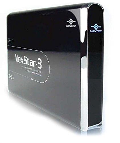 (Vantec NexStar 3 NST-260U2-BK 2.5-Inch IDE to USB 2.0 External Hard Drive Enclosure (Onyx Black))