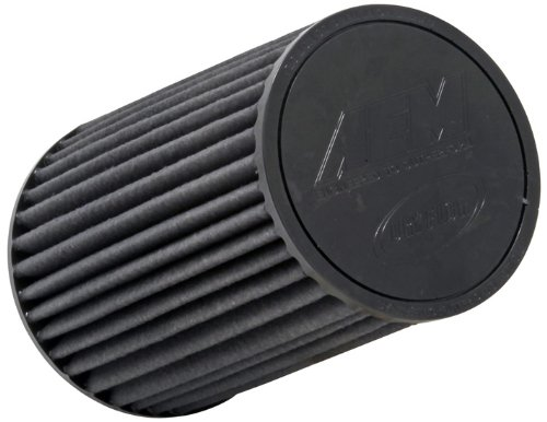AEM 21-2059BF Universal DryFlow Clamp-On Air Filter: Round Tapered; 4 in (102 mm) Flange ID; 9.188 in (233 mm) Height; 6 in (152 mm) Base; 5.125 in (130 mm) Top ()