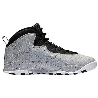 NIKE Air Jordan 10 Cement Mens Basketball-Shoes 310805