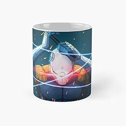 Amazon.com: Hideo Kojima 110z Mugs: Kitchen & Dining