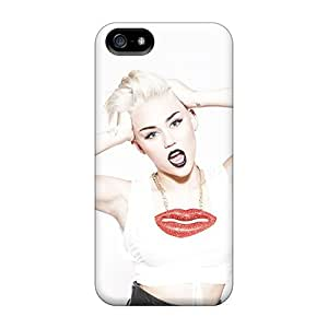 Perfect Hard Cell-phone Case For Iphone 5/5s With Custom Fashion Wild Miley Cyrus Pattern SherriFakhry