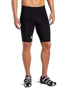 Canari Cyclewear Men's Elite Short Padded Cycling Short (Black, XX-Large)